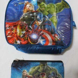 Marvel Avengers Lunch Bag and Utility Case